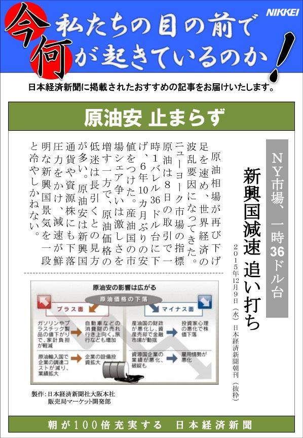 日本経済新聞MORI・MORIニュース 119号です。